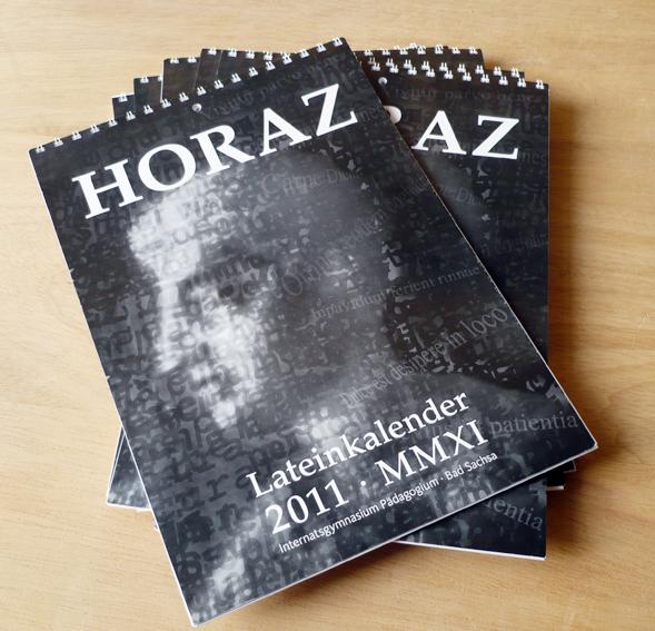 Lateinkalender Horaz 2011 Titel