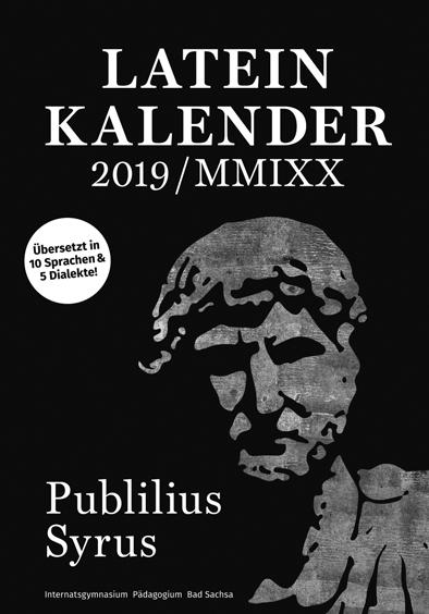 Publilius Syrus 2019